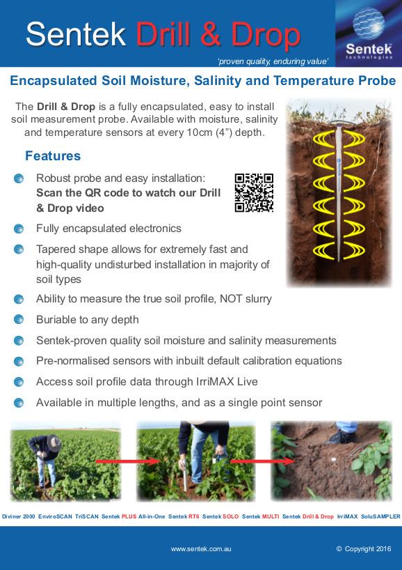 Sentek Drill & Drop - producto